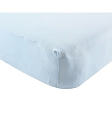 Organic Cotton Fitted Crib Sheet, One Size