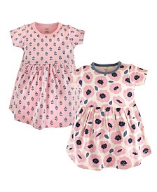 Touched By Nature Organic Cotton Dress, 2-Pack, 0Months-5T