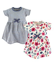 Organic Cotton Dress, 2-Pack, 0Months-5T