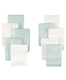 Little Treasure Bamboo Washcloths, 10-Pack, One Size