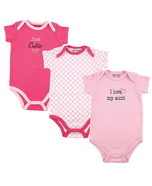 Baby Vision Luvable Friends Bodysuits 3 Pack 0 24 Months