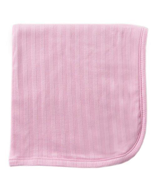 Hudson Baby Organic Receiving Blanket, Pink, One Size