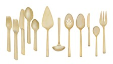 Polished Gold 27-PC Flatware Set, Service for 8, Created for Macy's