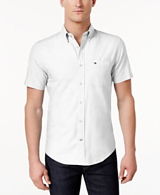 Tommy Hilfiger Men's Wainwright Custom-Fit Shirt, Created for Macy's