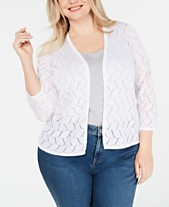 71a5ddfa1d4b4 Charter Club Womens Plus Size Sweaters - Macy s