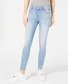 DL 1961 Florence Side-Striped Skinny Jeans