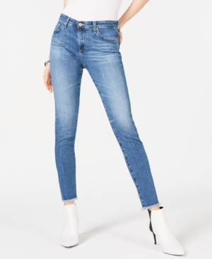 Image of Ag Adriano Goldschmied Frayed-Hem Jeans