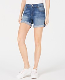 M1858 Hayley Cuffed Cutoff Shorts
