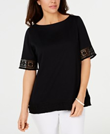 2317eb3f38a Karen Scott Clothing - Womens Apparel - Macy s