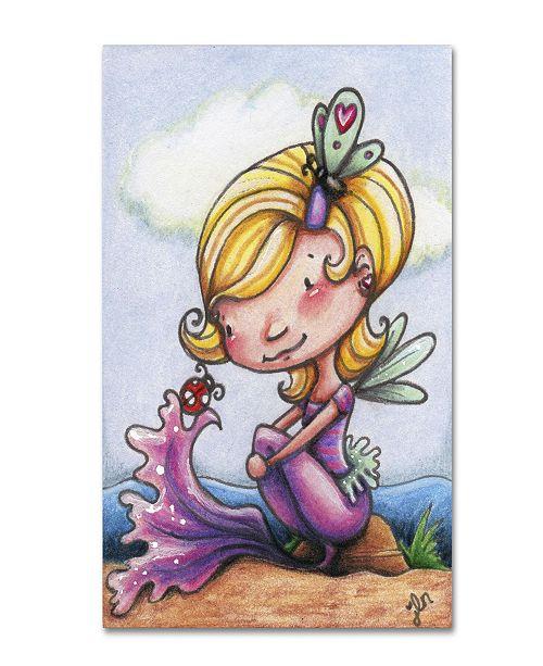 """Trademark Global Jennifer Nilsson Alissa Canvas Art - 11"""" x 14"""" x 0.5"""""""