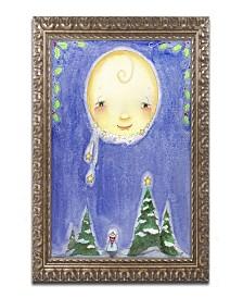 "Jennifer Nilsson Holiday Moon Ornate Framed Art - 16"" x 20"" x 0.5"""