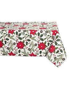 "Woodland Christmas Tablecloth 60"" x 84"""