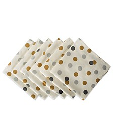 Metallic Confetti Napkin, Set of 6