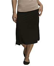 YALA Stella Tea Length Viscose from Bamboo Skirt