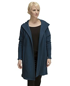 YALA Luca Organic Cotton and Viscose from Bamboo Hooded Jacket