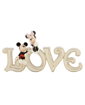 Lenox Collectible Disney Figurine, Mickey Mouse and
