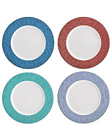Mikasa Dinnerware, Set of 4 Assorted Gotham Chargers