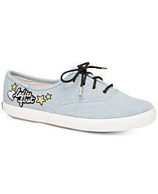 Keds Champion Appliqué Sneakers