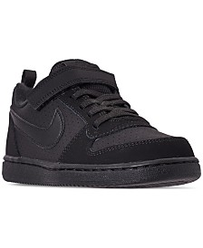 Nike Little Boys' Court Borough Low Casual Sneakers from Finish Line