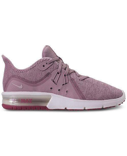 quality design 6e3d6 7d3c2 Nike Women's Air Max Sequent 3 Running Sneakers from Finish Line ...