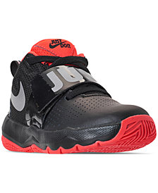 Nike Little Boys' Team Hustle D 8 Basketball Sneakers from Finish Line
