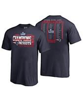 Majestic New England Patriots Super Bowl LIII Champ Roster T-Shirt 2fa0f76b1
