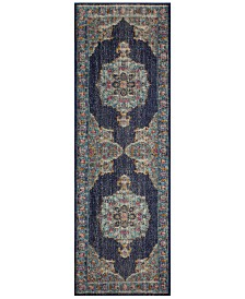 "BB Rugs Alexa ALX-40 2'6"" x 8' Runner Area Rug"