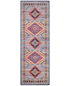 "BB Rugs Alexa ALX-56 2'7"" x 8' Runner Area Rug"