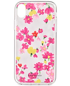 kate spade new york Jeweled Floral iPhone XS Case