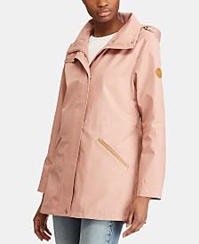 Lauren Ralph Lauren Cinched-Waist Anorak Jacket