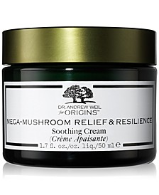 Dr. Andrew Weil Mega-Mushroom Relief & Resilience Soothing Cream, 1.7-oz.