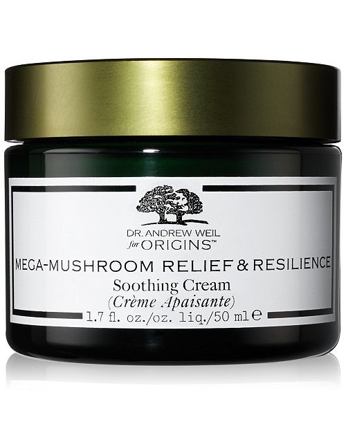 Origins Dr. Andrew Weil Mega-Mushroom Relief & Resilience Soothing Cream, 1.7-oz.