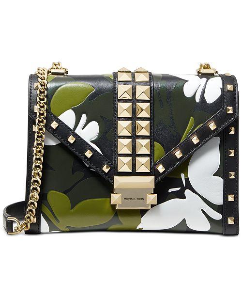 2fe078495f5b Michael Kors Camo Butterfly Whitney Bag & Reviews - Handbags ...