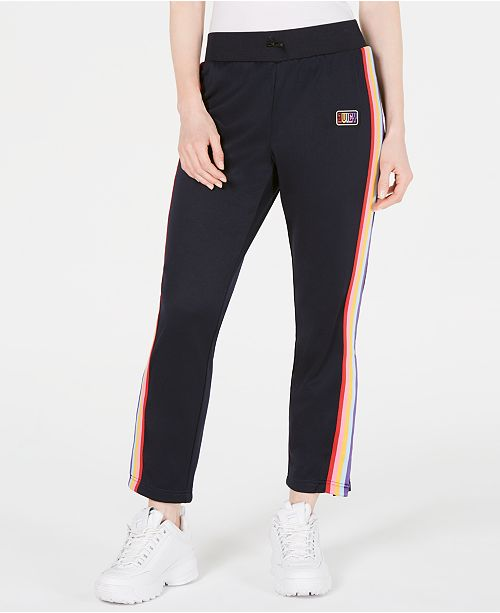 9e8ba2ae9ec Juicy Couture Varsity-Stripe Track Pants   Reviews - Leggings ...
