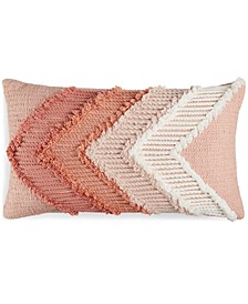"CLOSEOUT!  Rimmer Cotton 24"" x 14"" Decorative Pillow"