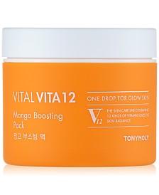 TONYMOLY Vital Vita 12 Mango Boosting Mask, 3.38-oz.