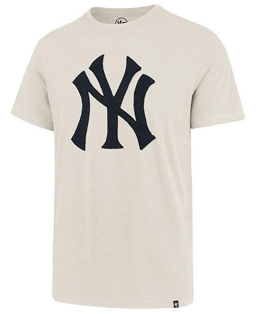 aa76dc7b5 ... '47 Brand Men's New York Yankees Fieldhouse Knockout T-Shirt; ' ...