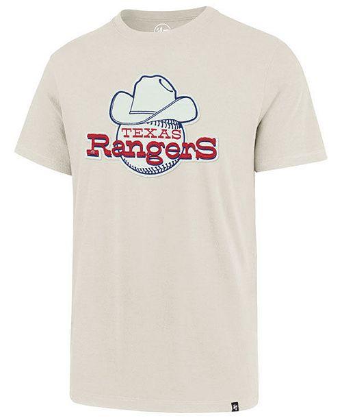 e1ac46292 47 Brand Men's Texas Rangers Fieldhouse Knockout T-Shirt & Reviews ...