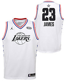 Outerstuff Big Boys Lebron James Los Angeles Lakers All Star Swingman Jersey