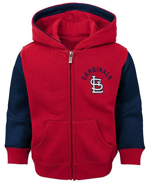 Outerstuff Baby St. Louis Cardinals Fielder Full-Zip Hoodie