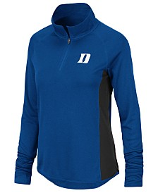 Colosseum Women's Duke Blue Devils Albi Quarter-Zip Pullover