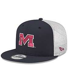 New Era Ole Miss Rebels TC Meshback Snapback Cap