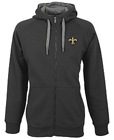 Antigua Men's New Orleans Saints Victory Full-Zip Hoodie