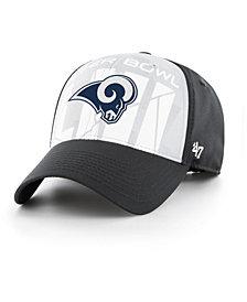 '47 Brand Los Angeles Rams Super Bowl LIII Crosshatch MVP Adjustable Cap