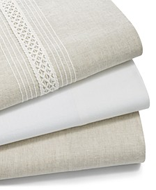 CLOSEOUT! Linen Sheet Collection, Created for Macy's