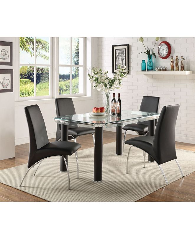 Acme Furniture Pervis Side Dining Chair (Set of 2)