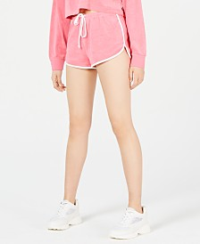 Juicy Couture Piped-Trim Terry Shorts