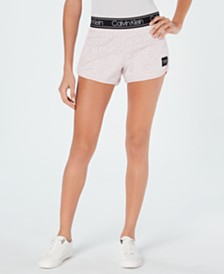 Calvin Klein Performance Logo-Print Shorts