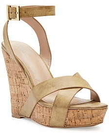 CHARLES by Charles David Aleck Platform Wedge Sandals