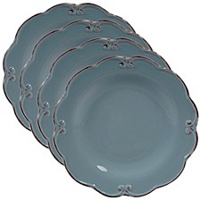 Vintage Blue 4-Pc. Salad Plate
